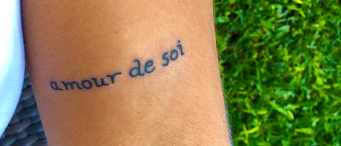 Amour De Soi Is In Our Bones The Body Positive